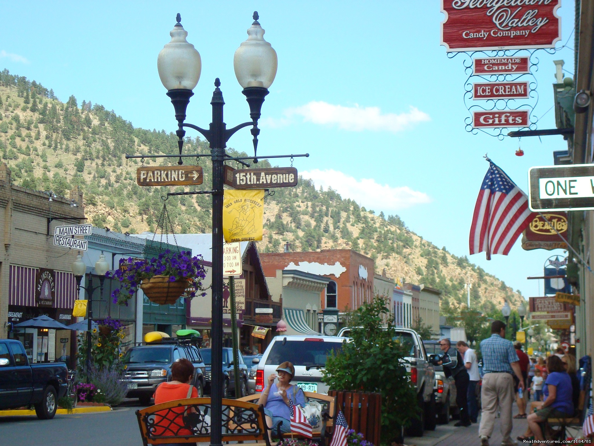 Historic District Of Idaho Springs