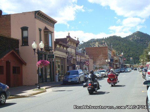 Historic Disrict Of Idaho Springs, Colorado - Mt Evans Cabin, Hot Springs & Historic Town