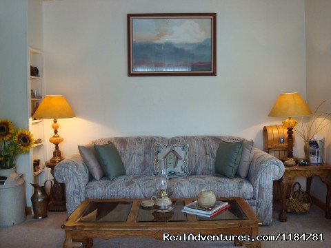 Cozy Living Room - Mt Evans Cabin, Hot Springs & Historic Town