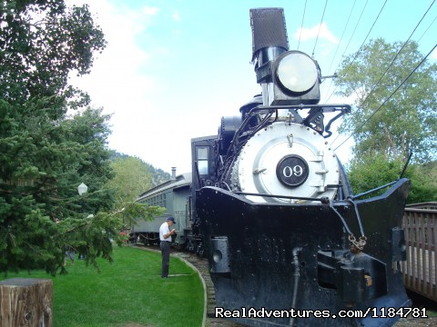 Old Historic Train In Idaho Springs (#17 of 26) - Mt Evans Cabin, Hot Springs & Historic Town