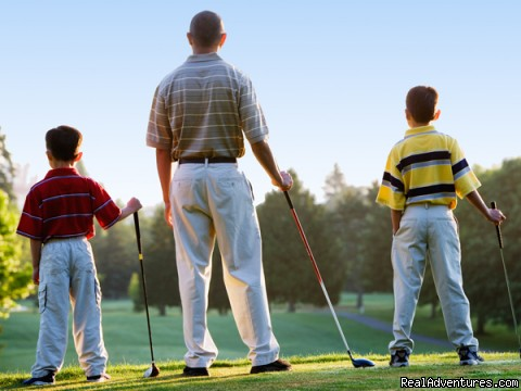 Father and Son Golf - Shanty Creek Resorts