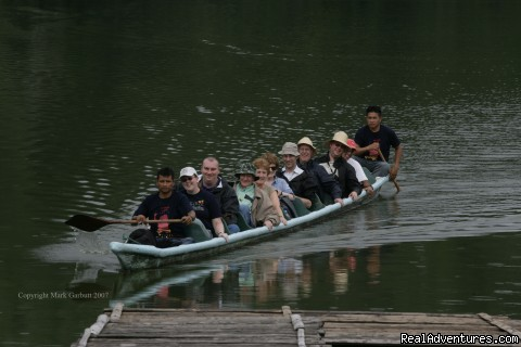 Paddling  - Adventure and Ecotourism At  Finest Amazon Lodge