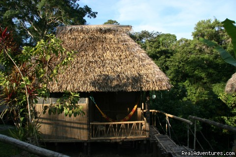 Our bungalows - Adventure and Ecotourism At  Finest Amazon Lodge