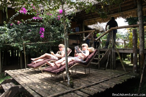 Relax area - Adventure and Ecotourism At  Finest Amazon Lodge