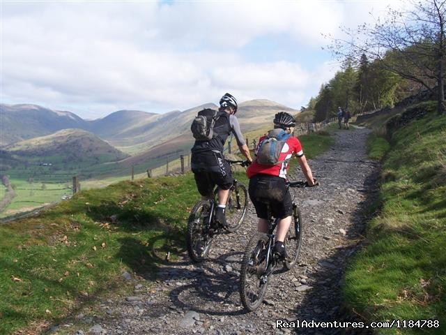 Mountain Bike in the English Lake District - Mountain Biking and Cycling Holidays in the UK