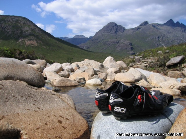 Mountain Bike C2C in Scotland - Mountain Biking and Cycling Holidays in the UK