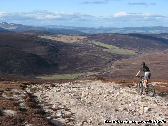 Mountain Biking Holidays in Scotland - Mountain Biking and Cycling Holidays in the UK