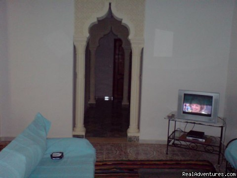 Another view of salon - Rent villa at sousse in tunisia