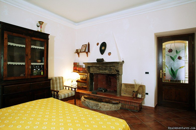 One of our typical  room: very spacious and nice | Image #2/3 | Farmstay in Abruzzi National Park,  south of Rome