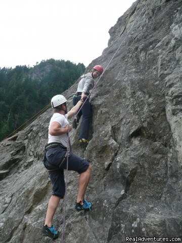 Rock Climbing Deception Crags - Authentic NW Nature, Wildlife, Wine & Active tours