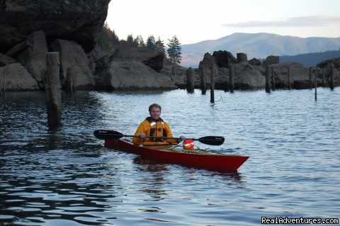Kayaking on Lake Cushman - Authentic NW Nature, Wildlife, Wine & Active tours