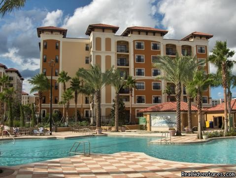 Main Pool, unit in background (#5 of 9) - Floridays Resort Orlando