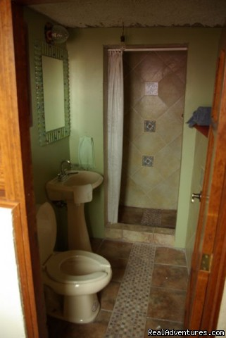 Newly renovated lower bathroom - Casita in Historical Colonial City in Mexico