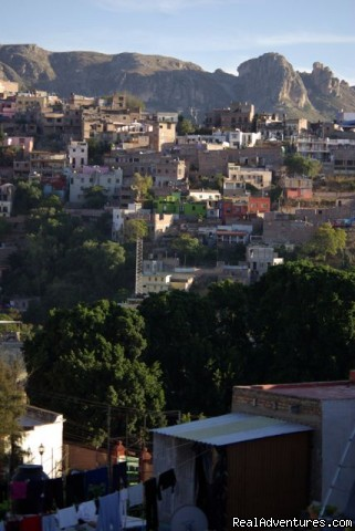 Great views of historical Guanajuato - Casita in Historical Colonial City in Mexico