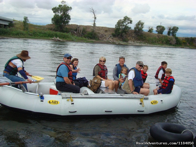 Boat Float on the Yellowstone River | Image #11/18 | Hawley Mountain Guest Ranch Vacation
