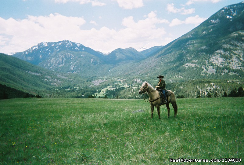 Riding up to our high meadow | Image #7/18 | Hawley Mountain Guest Ranch Vacation