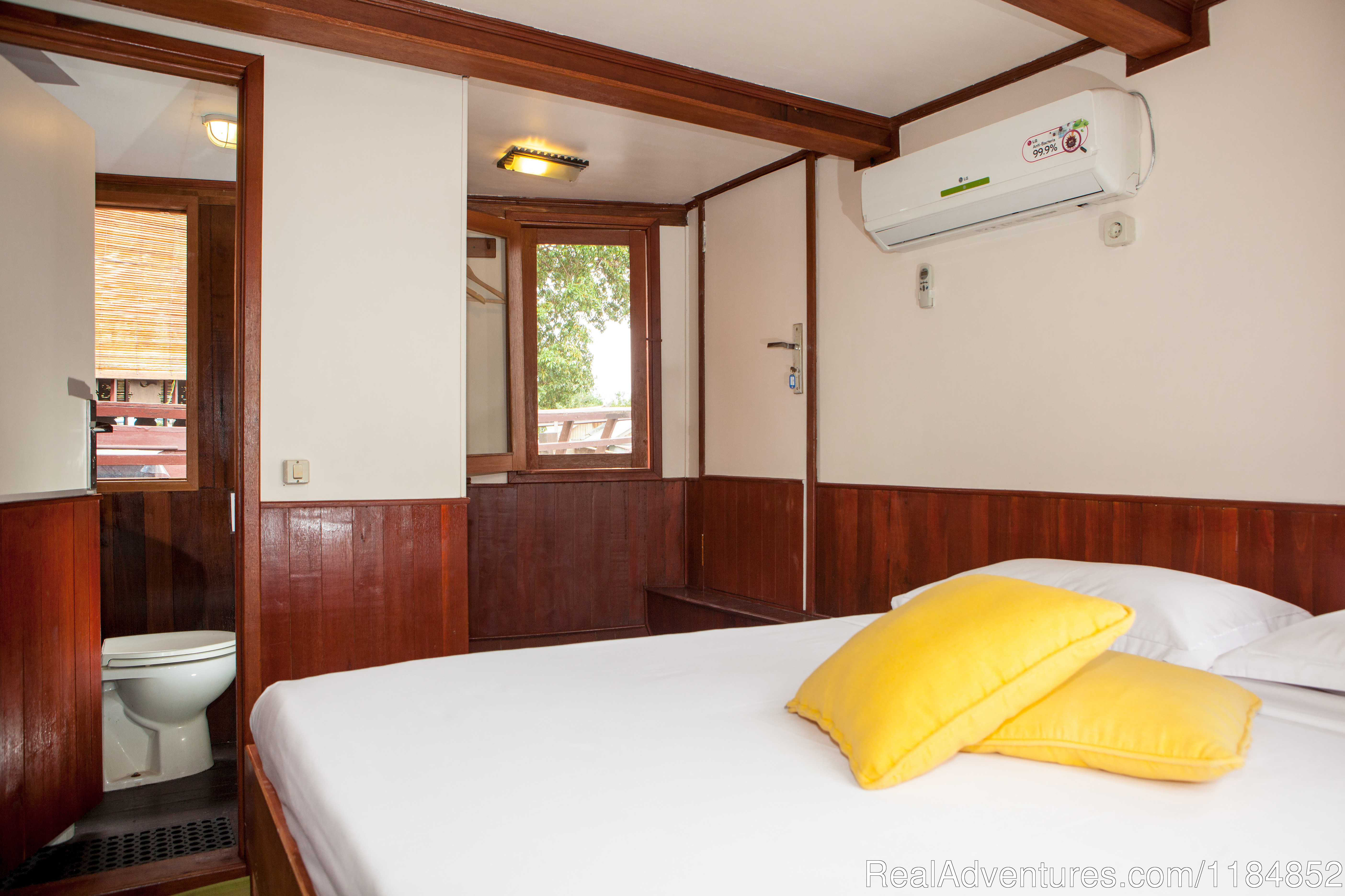 Our Superior Large Cabin on board the Rahai'i Pangun 2