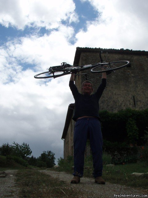 Content cyclist! | Image #5/15 | Mountain Bike from your front door in Umbria!