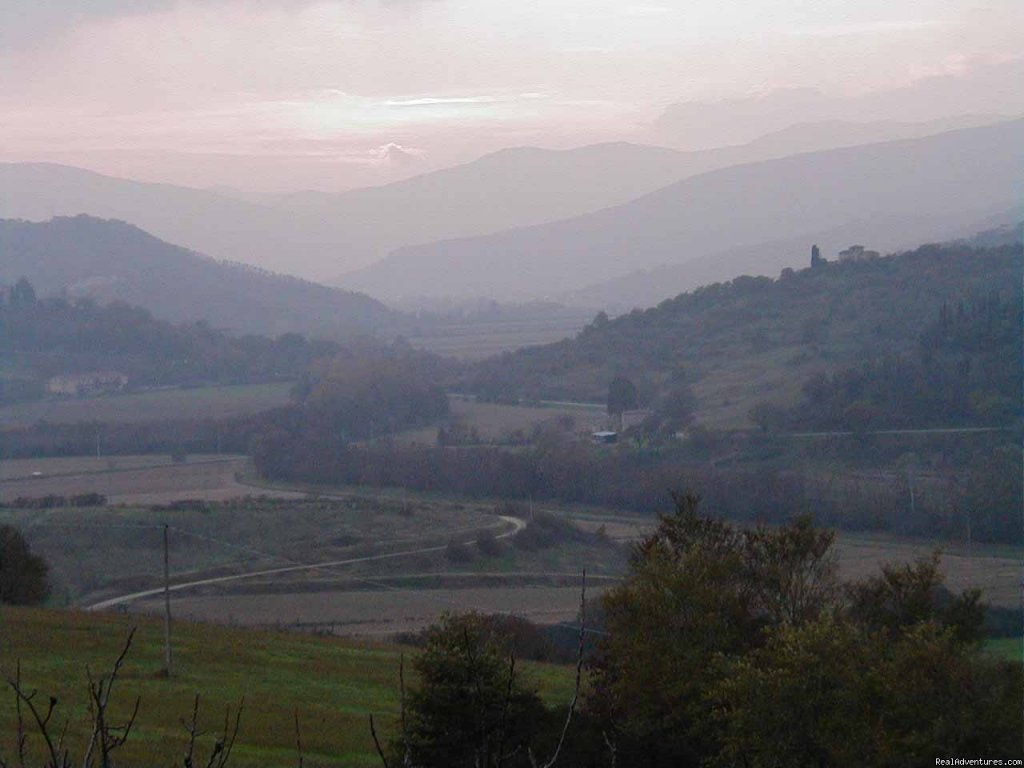 Pierle Valley: a storybook view! | Image #10/15 | Mountain Bike from your front door in Umbria!