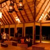 Dining at the Bush Lodge
