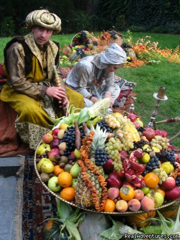 Travel to Georgia, Caucasus: Fruit Festival in Tbilisi