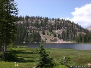 High Lake Wilderness Trips and Horseback Riding Mtyon, Utah Horseback Riding