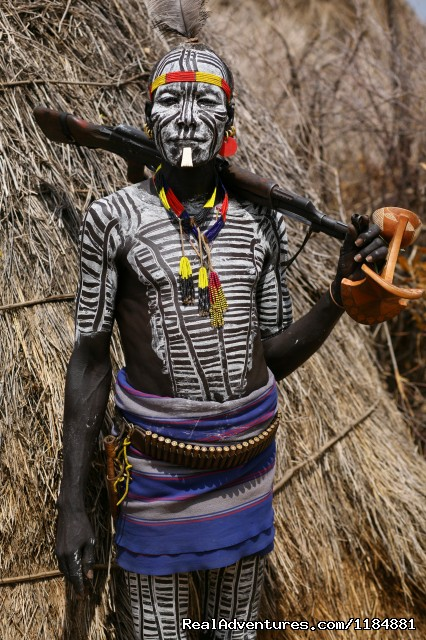 On Of Southern  Ethiopia Tribe - Southern Cultural Route: Journey the Omo Valley