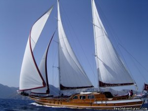 Sailing in Mediterranean with MEDSAIL HOLIDAYS Sailing & Yacht Charters Aegean Islands, Greece