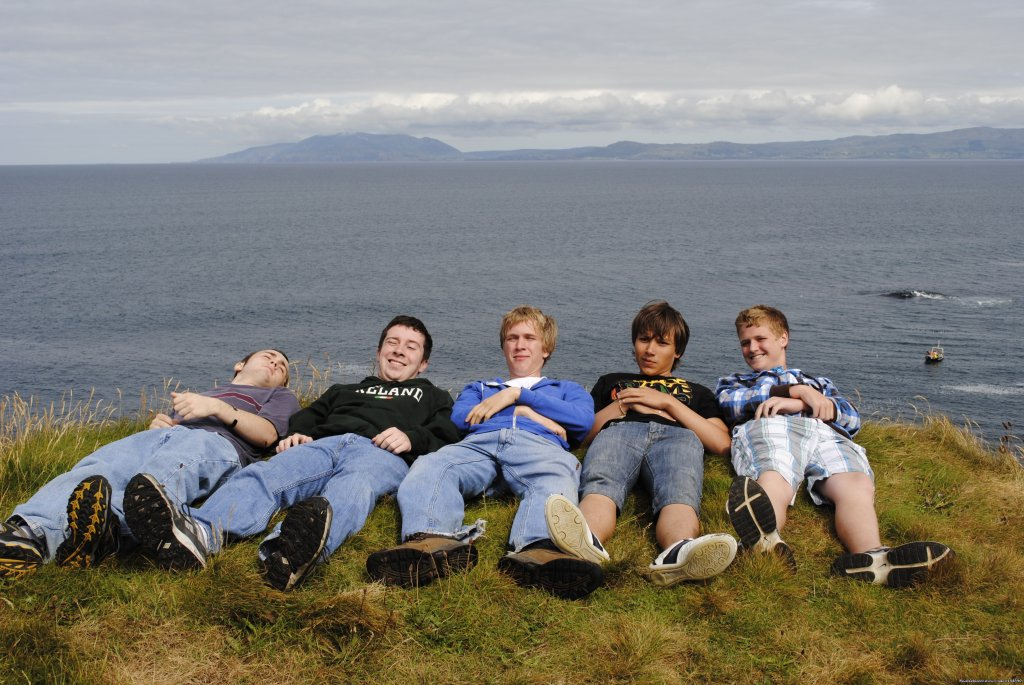 Posing on the Cliffs | Image #16/18 | Summer Camp in Ireland