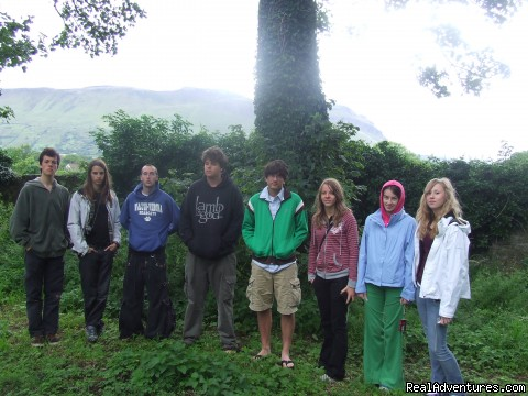 County Sligo WB Yeats Grave  - Summer Camp in Ireland