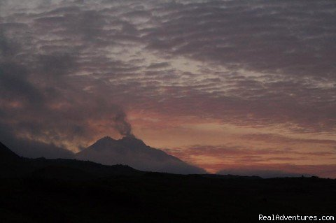 Bezymyanny volcano is erupting | Image #8/24 | Kamchatka - hot land at the cold sea.