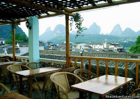 the roof top bar | Image #3/4 | Yangshuo Peace Family Holiday Hotel