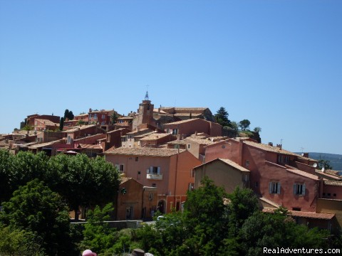 Roussillon - Sightseeing tours in Provence