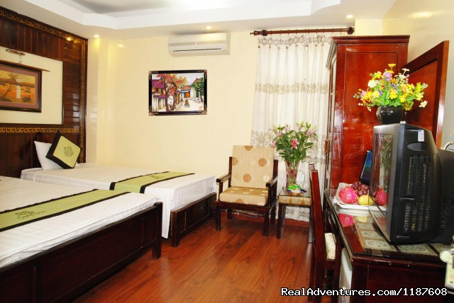 Superior Triple Room - Jasmine Garden Hotel-Hanoi Old Quarter
