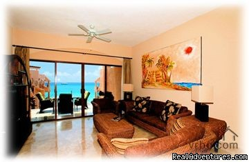 living room (#5 of 14) - Beachfront Penthouse in Town with Infinity Pool