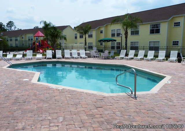 You will enjoy a wonderful HEATED pool in the Florida sun - 'WELCOME TO POTTER'S CASTLE' Disney World