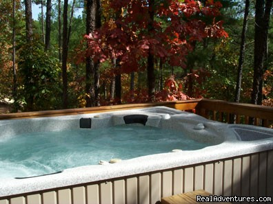 Hot tubs - Broken Bow Lake Cabins mins from Beavers Bend, OK