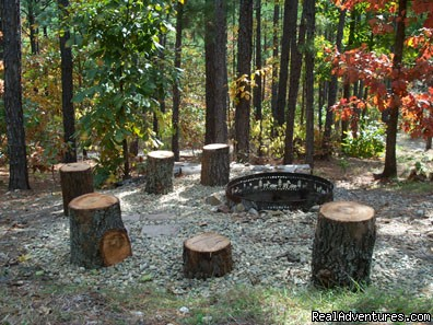Campfires! - Broken Bow Lake Cabins mins from Beavers Bend, OK