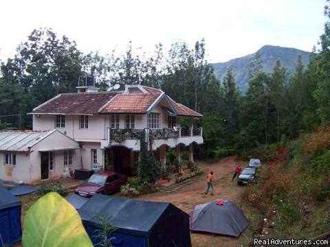 Jungle camping Devigiri Coffee Estate Chikmagalur Take the tent you want for Camping