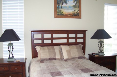 South Padre Vacation Condo- April and May Specials: Master Bedroom