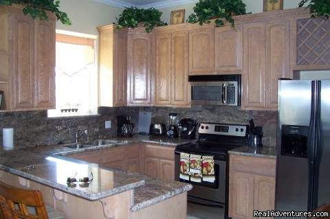 Kitchen - South Padre Vacation Condo- April and May Specials