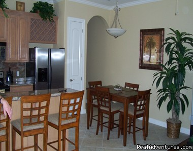 Dining Area - South Padre Vacation Condo- April and May Specials