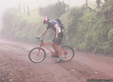 Mountain Biking in Costa Rica's cloud forest - Costa Rica Explorations