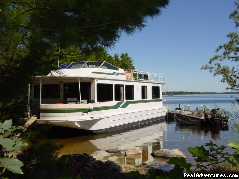 Rainy Lake Houseboats are all SkipperLiner boats - Rainy Lake Houseboats  premier houseboat rentals