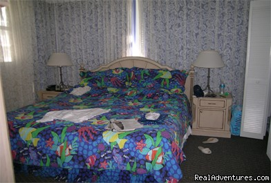 Beautiful 2 Bdr Key West Condo!: Master bedroom