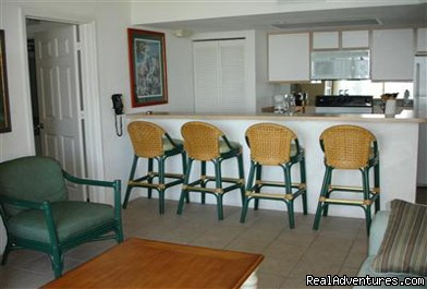 Full kitchen - Beautiful 2 Bdr Key West Condo!