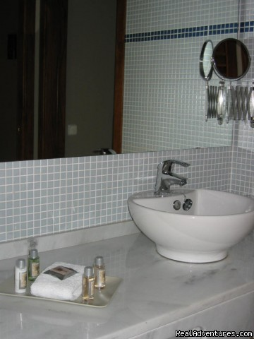 Sapphire Bathroom (#3 of 5) - Luxury Vacation Rental in Girona near Barcelona