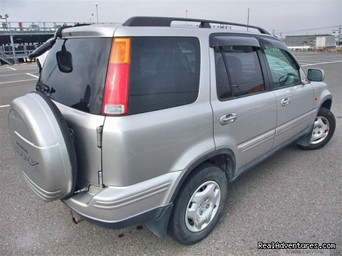 honda crv 4x4-kampala 4x4 car hire - Kampala furnished apartments & Uganda car hire 4x4