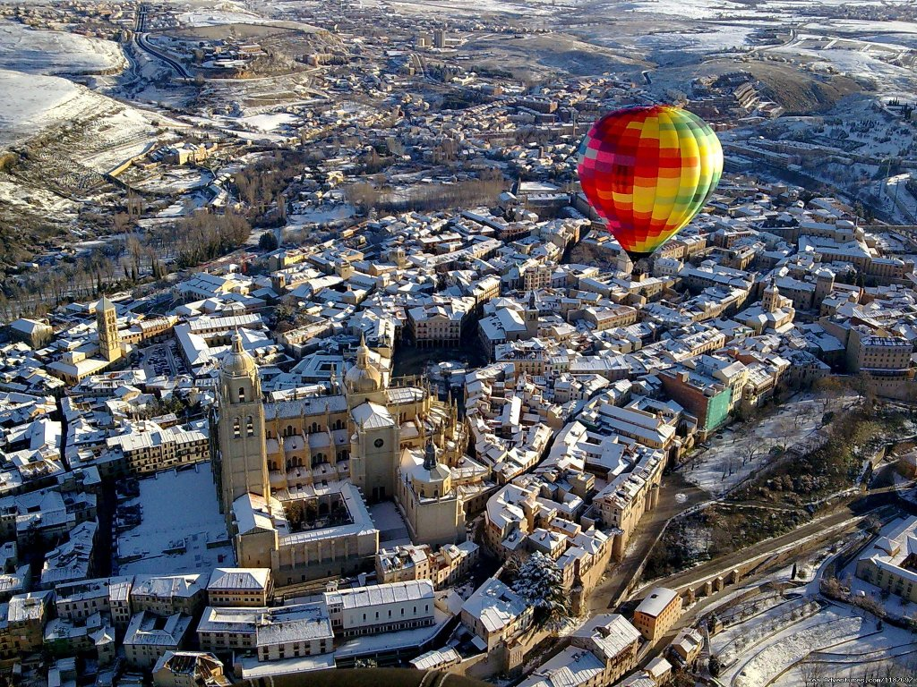 Segovia Winter flight | Image #5/11 | Hot-air Balloon Rides in Madrid & Segovia, Spain