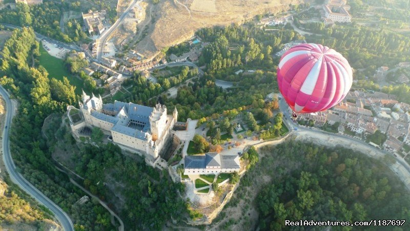 Over the Alcazar | Image #1/11 | Madrid, Spain | Ballooning | Hot-air Balloon Rides in Madrid & Segovia, Spain